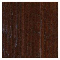 "Mohawk Brandymill Plank: Hickory Chocolate 3/8"" x 5"" Engineered Hardwood WEC52 11"