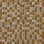"Emser Lucente Stone and Glass Blends Mosaic 12"" x 12"" : Venezia"