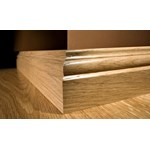 "Kahrs Original American Traditionals Collection:  Wall Base Oak San Jose - 96"" Long"