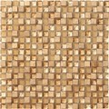 "Marazzi Crystal Stone: Honey 12"" x 12"" Glass Tile LG4H"