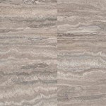 Wicanders ArtComfort - Stone Tile Collection Cork Flooring: Travertine Argent D818001