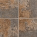 "Mannington Slate Valley: River 18"" x 18"" Porcelain Tile SV3T18"
