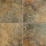"Mannington Tempest: Guilded Gold 13"" x 13"" Porcelain Tile TP4T13"