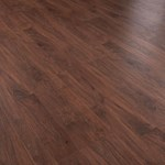 Faus Floor Cosmopolitan Collection: Walnut Brandy 10mm Laminate With Attached Pad 786529
