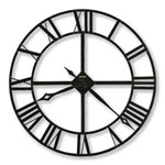 Howard Miller 625-372 Lacy Gallery Wall Clock