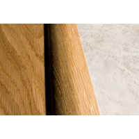"Kahrs Linnea City Collection:  Overlap Reducer Walnut Natural - 78"" Long"