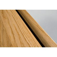 "Kahrs Linnea City Collection:  Square Nose Reducer Hard Maple Natural - 78"" Long"