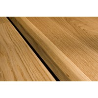 "Kahrs Linnea City Collection:  T-Mold White Oak Gunstock - 78"" Long"
