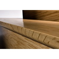 "Kahrs Linnea City Collection: Flush Stair Nose American Cherry Natural - 78"" Long"