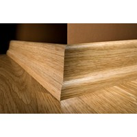 "Kahrs Linnea City Collection: Slim Base American Cherry Natural - 96"" Long"
