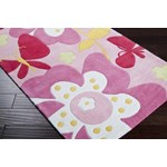 "Surya Chic Baby Pink (CHI-1007) Rectangle 3'0"" x 5'0"""