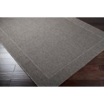"Surya Elements Charcoal Gray (ELT-1008) Rectangle 3'11"" x 5'7"""