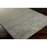 "Surya Etching Bay Leaf (ETC-4911) Square 0'6"" x 0'6"""