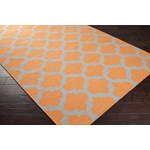 "Surya Frontier Papaya (FT-119) Square 1'6"" x 1'6"""