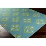 "Surya Frontier Turquoise (FT-371) Square 0'6"" x 0'6"""