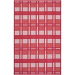"Surya Country Living Happy Cottage Red (HC-5810) Rectangle 5'0"" x 8'0"""