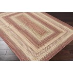 "Surya Jamestown Brick Red (JAM-4300) Oval 2'3"" x 3'0"""