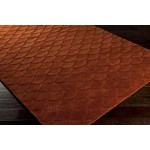"Surya Kinetic Raw Sienna (KNT-3005) Rectangle 8'0"" x 11'0"""