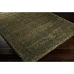 "Surya Luxury Shag Moss (LXY-1728) Rectangle 7'10"" x 10'6"""