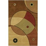 "Chandra Antara (ANT116-576) 5'0""x7'6"" Rectangle Area Rug"