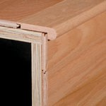 "Bruce Dundee Strip Oak: Stair Nose Spice - 78"" Long"
