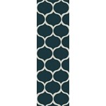 "Surya Mamba Teal Blue (MBA-9020) Rectangle 2'6"" x 8'0"""