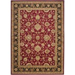 "Surya Midtown Maroon (MID-1013) Rectangle 5'3"" x 7'3"""