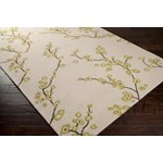 "Surya Rain Parchment (RAI-1076) Rectangle 8'0"" x 10'0"""
