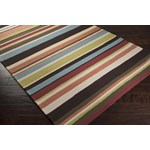 "Surya Rain Wenge (RAI-1091) Rectangle 9'0"" x 12'0"""