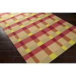 "Surya Rain Pale Gold (RAI-1124) Rectangle 8'0"" x 10'0"""