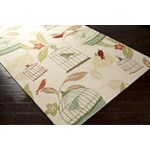 "Surya Rain Ivory (RAI-1126) Rectangle 2'0"" x 3'0"""