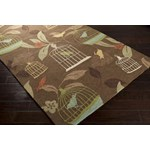 "Surya Rain Hot Cocoa (RAI-1127) Rectangle 8'0"" x 10'0"""