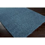 "Surya Shimmer Bright Cerulean (SHI-5004) Square 0'6"" x 0'6"""