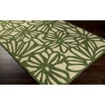 "Surya Storm Spruce Green (SOM-7735) Rectangle 3'3"" x 5'3"""