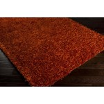 "Surya Vivid Burnt Orange (VIV-804) Square 0'6"" x 0'6"""